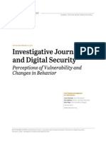 Investigative Journalists and Digital Security
