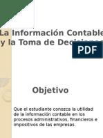 La Información Financiera y La Toma de Decisiones