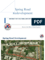 DCHA Spring Road Re-Use Project Presentation 9-10-14