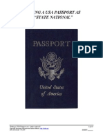 Getting a State National Passport
