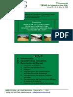 Manual de Especificaciones Técnicas