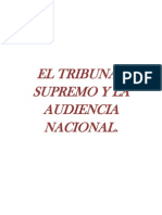 El Tribunal Supremo y la Audiencia Nacional.
