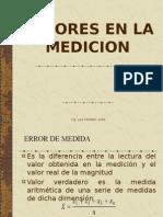 Errores en La Medicion
