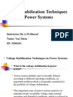 Voltage Stabilsation Technique