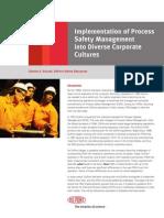 Process SafetyManagement Implementation