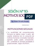 MOTIVACIONES SOCIALES