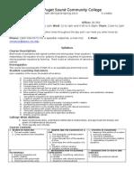 Syllabus Math 98H SP10