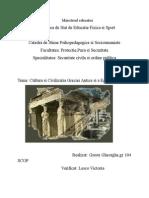 Istoria Culturii Universale si Nationale