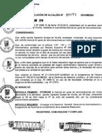 RESOLUCION DE ALCALDIA 074-2010/MDSA