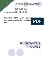 ECONOMETRIE C6 2014