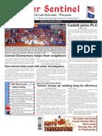 November 26, 2015 Courier Sentinel