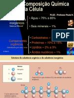Composição Química Da Célula - PH - ÁGUA E SAIS
