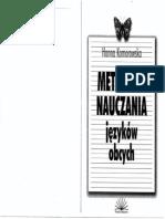 metodyka nauczania języków obcych komorowska pdf chomikuj