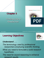 Methods in Business research chapter 03