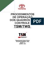 Procedimentos Do Quadro de Controle TSM - SHIRLEY