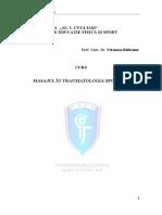 225940619 CURS Masajul in Traumatologia Sportiva 2013 Pw