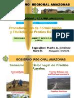 Formalizacion de La Propiedad Agraria