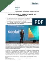 20151125 Nota de Prensa La Tecnoogia Deber Ser ImplementadaGPCNFinal