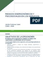 Riesgos Disergonomicos y Psicosociales