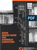 Rapid Design Guide for Overhead Conveyors