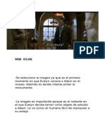 the shape- analisis del video