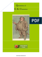 Chesterton, Gilbert - Quotes