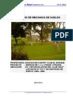 Informe Suelos Club El Bosque