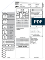 Marcus-Character D&D 5th edition