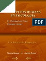 Concepcion Humana en Psicología