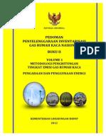 Pedominventarisasi emisi gas rumah kaca sektor energian Energi