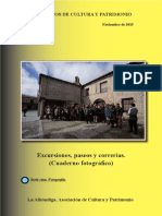 Cuaderno de Cultura y Patrimonio nº XXXI
