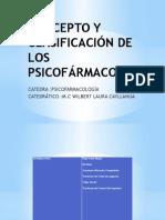 CONCEPTO Y CLASIFICACIÓN DE LOS PSICOFÁRMACOS.pptx