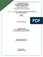 Fundamentacion de La Formacion Profesional Integral Con Base en Competencias