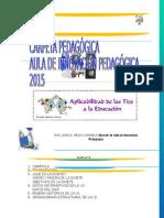 Modelo de Carpeta Pedagogica 2015
