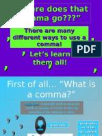 Commas 1