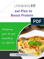 August Meal Plan Full