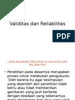 (5) Dr. Harun - Validitas Dan Reliabilitas