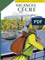 Les Vacances de Cecile - Allan,Mabel