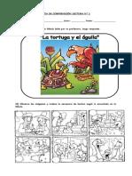 Guías de comprensión lectora 1° Básico