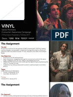 HBO Vinyl S1 AA Consumer Engagement Proposal
