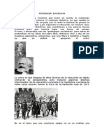PEDAGOGÍA SOCIALISTA II