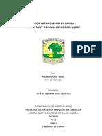 Case Report Syok Hipovolemik Et Causa Dehidrasi Berat
