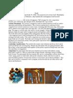 activity portfolio - beads