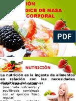 NUTRICIÓN E INDICE CORPORAL