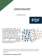 Microfiltración