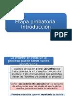DER.proc.CIVIL I - Procedimiento Probatorio