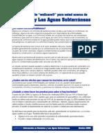 Bacterias y Las Aguas Subterraneas 10-09