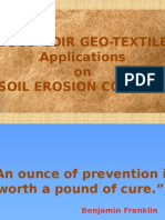Geo Textile Application