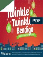 Twinkle Twinkle Bendigo poster