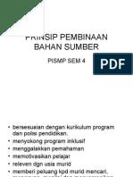 Prinsip Pembinaan Bahan Sumber 2